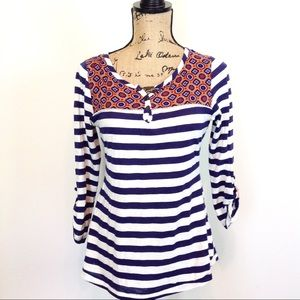 Anthropologie Striped Top - S